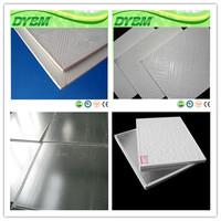 waterproof pvc laminated gypsum ceiling tiles