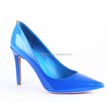 2015 latest model women pointed toe high heel shoes from original maufacture