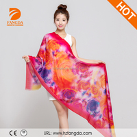 Winter fashion shawl beautiful lady pure wool scarf