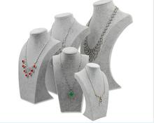 Los fabricantes que venden Premium ante como modelo de cuello de la joyería colgantes de la joyería estante de exhibición