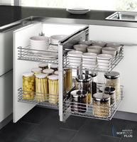 2015 new design show hand corner kitchen cabinet corner