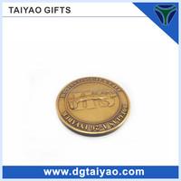 USA Hot Custom Design Advertising Metal Commemorative Coin