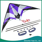 2015 promocional 1.8 M linha dupla Delta Stunt Kite roxo