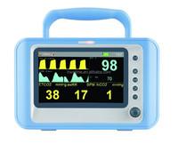 7 Inch SpO2 CO2 Vital Signs Monitor /Chinse Cardiac Monitor/Hospital Equipment
