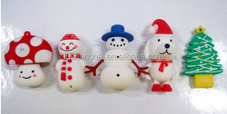 christmas father stick with new year gift PVC pen usb3.0 stick