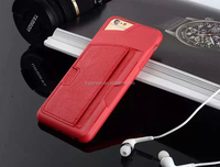 Cool Foldable Stand Case for iPhone 6, Foldable Hybrid PU + Plastic Back Case for iPhone 6 Stand 4.7 inch with Card Slot