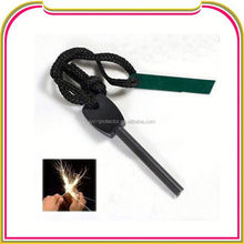 fire starter magnesium ,H0T047 fire starter with compass paracord
