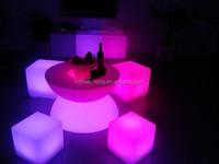 Waterproof LED Cube Seat Lighting Glowing Cube Seat HC-L014