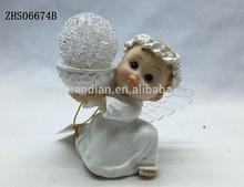 Ángel de la decoración para la boda con luz LED