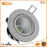factory led downlighting 5w cob led downlights vs halogen