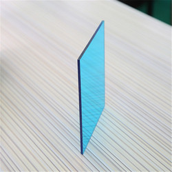 GE uv blocking solar anti-fog corrugated impact resistance 1.5mm plastic sheets