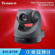 480TVL Built-in 650 line 18 times hdmi video conference camera usb monochrome camera TEVO-D70P polycom video conference terminal
