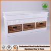 Antique shoe storage bench white wooden tv bench wholesale