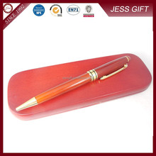 High end Red wood pen and wood box wooden pen set