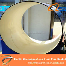 plastic coating steel pipe for coal mine/PE large diameter coating pipes