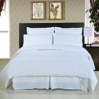 200TC 50% cotton 50% polyester king size bedding sets cheap