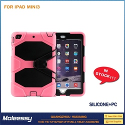 New products cartoon leather case for ipad mini 2
