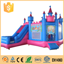 2015 popular for kids fire truck inflatable bounce house
