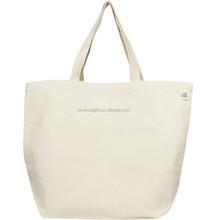 wholesale china factory zipper canvas bags plain