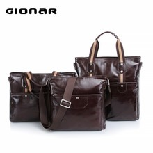 New Arrival Wholesale Men Genuine Leather Bag