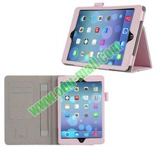 Leather Cover for iPad Mini 2 with Card Slots and Armband Holder