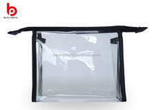 2015 Wholesale Transparent Promotion pvc cosmetic bag