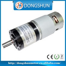 DS-42RP775 high torque low rpm dc geared motor 12v 20w
