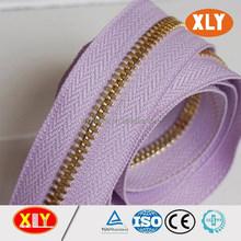 made in china Zipper factory #5 metal zipper roll,metal zipper long chain
