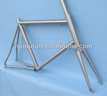 China cheap titanium 451 wheel frame and fork