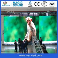 high quality p6 outdoor advertising led display screen