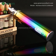 2015 new products GS Rainbow EGO II 2200mAh Japan Electronic Cigarette