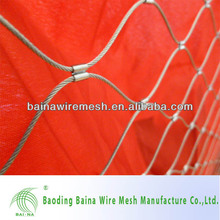 2015 alibaba China supply Stainless steel zoo aviary fencing/Metal aviaries