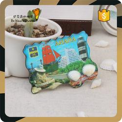 Gahana Style Seaside 3D Custom Fridge Magnet