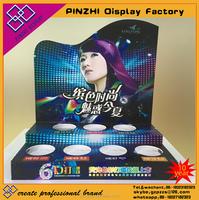 Pop bestsell acrylic makeup frame Cosmetics display shelf