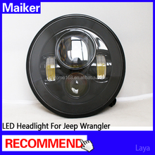LED Headlight 1st G for jeep wrangler lights car led heading