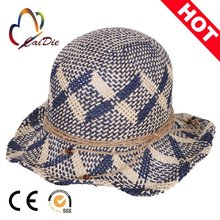 China supplier new products wholesale, new diy hand made knitting small straw hat mini