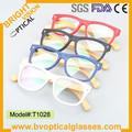 T1028 venta caliente de moda unisex acetato marcos de anteojos ópticos