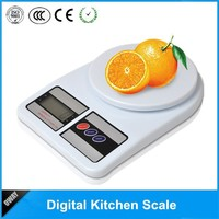 LCD pro chef 5kg 1g digital wall kitchen scale