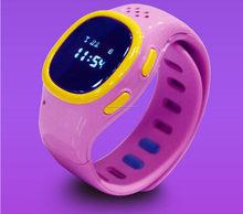 Nuovi bambini di arrivo della vigilanza di GPS orologio intelligente gps per i bambini
