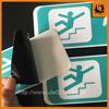 Black Backing Custom printed vinyl sticker/ adhesive car window decal
