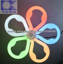 Circular lámpara fluorescente de ahorro de energía colorido tubo cfl