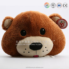 Car decorations soft car pillow & plush panda cushion