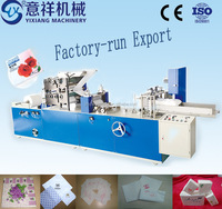 Good quality paper napkin making machine with embossing in hot sale China machinery