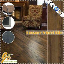 J&D plastic flooring looks like wood 5mm vinyl flooring