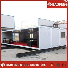 2015 the latest design withstand wind flat top steel frame house plans