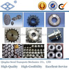 ASA140 ANSI standard 28A-2 as per DIN 8188 ISO/R 606-ANSI B 29.1 pitch 44.45 C45 22T double row sprocket