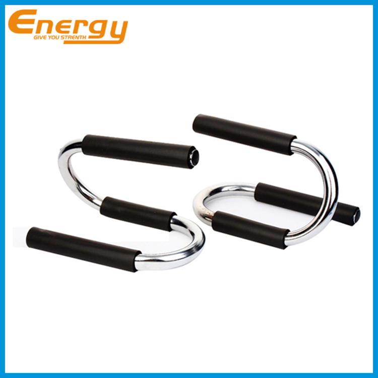 Steel Push up Bars Push up Bar Black Foam Steel