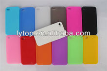 free sample plain silicone case for apple iphone 4, for apple iphone4 case