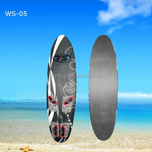 WS-05 color painting sup wind surfboard, high quality windsurfing boards china
