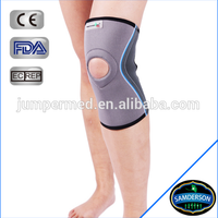 Knee sleeve with a contoured fit for running and basketball